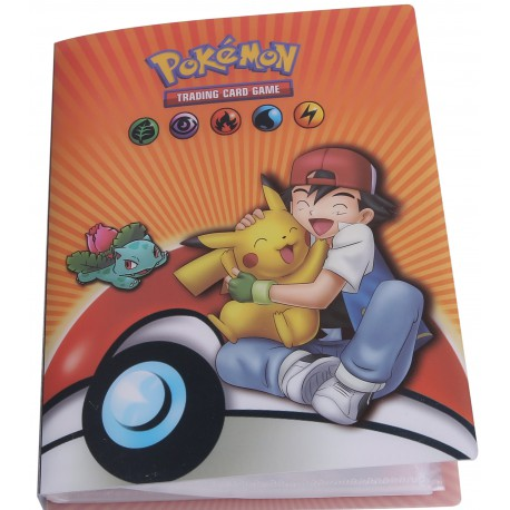 Cahier Range Carte Pokemon 240 Cartes | Jeux carte Pokemon | Album carte Pokémon | Classeur carte pokemon