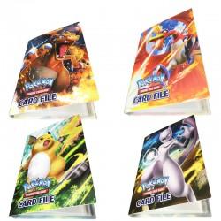 Cahier Range Carte Pikachu 240 Cartes|Range cartes Pokemon|Acheter Classeur carte Pokémon|jeux carte pokemon