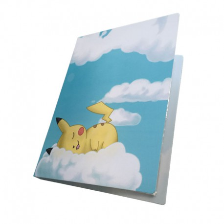Cahier Range Carte Pikachu | Album carte Pokemon pas cher | Site carte Pokemon | Ranger cartes Pokemon