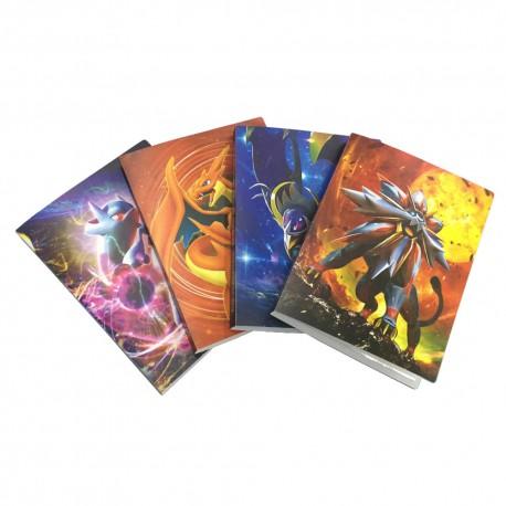 Cahier Range Carte Pokemon 112 Cartes | Classeur carte Pokemon | boutique carte pokemon|carte Pokemon francais