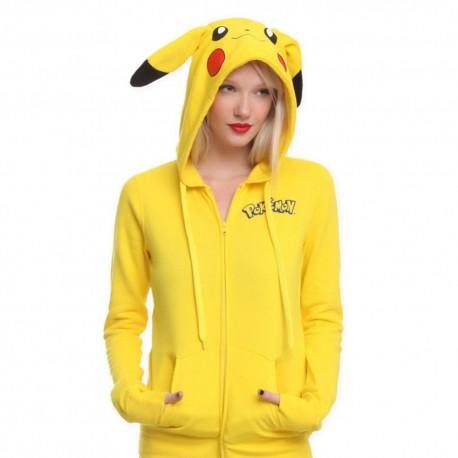 Pokemon Pas Femme Sweat Pikachu Veste Cher d8HCd