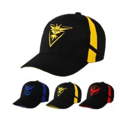 Casquette Team Pokemon Go | Casquette Pokémon GO | Accessoire Pokemon Go | Equipes Pokemon Go