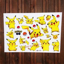 Tatouage Temporaire Pokemon
