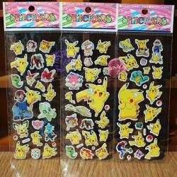 Autocollant Pokemon | Acheter Stickers Pikachu livraison gratuite