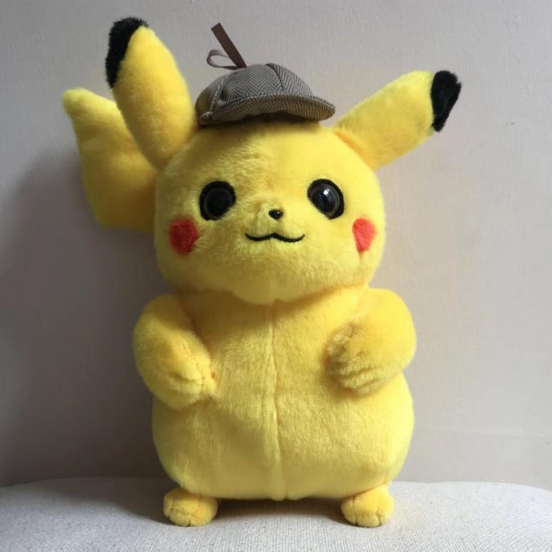 peluche du film detective pikachu